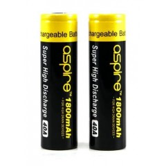 Aspire ICR 18650 1800mAh Battery - 40A